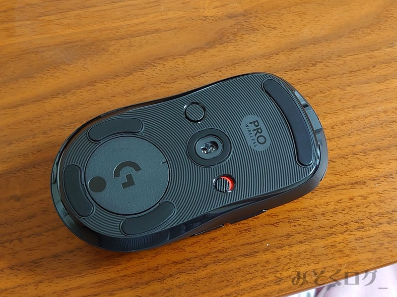 Logicool G Pro Wireless裏側