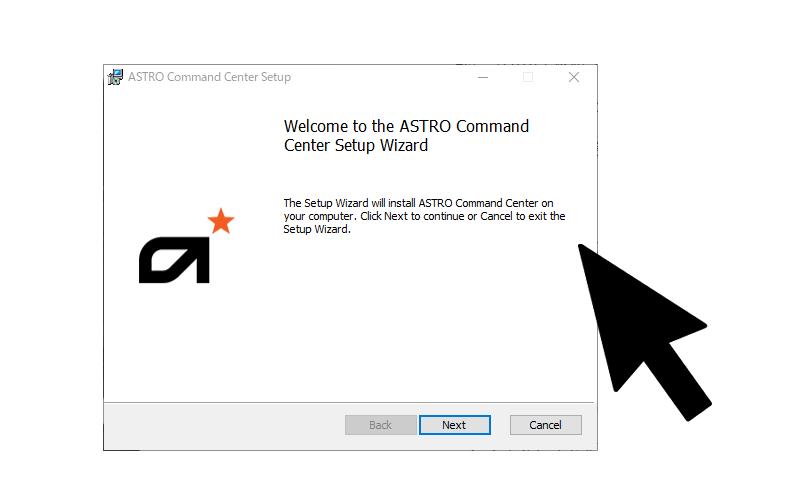 Astro Command Centerのインストール方法